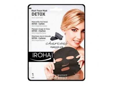 Limpeza Facial Detox Charcoal Black Iroha