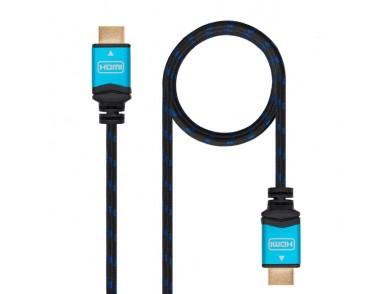 Cabo HDMI TooQ 10.15.37 V2.0 Preto Azul