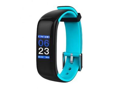 "Pulseira de Atividade BRIGMTON BSPORT-15-A 0,96"" OLED 150 mAh Bluetooth 4.0 Azul"