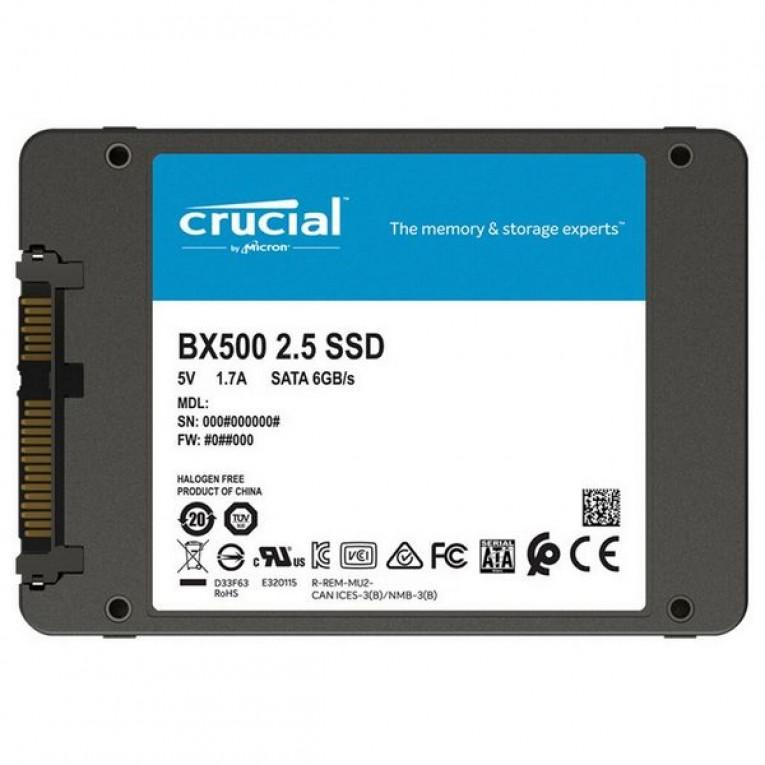 Disco Duro Crucial CT120BX500SSD1 120 GB 2.5