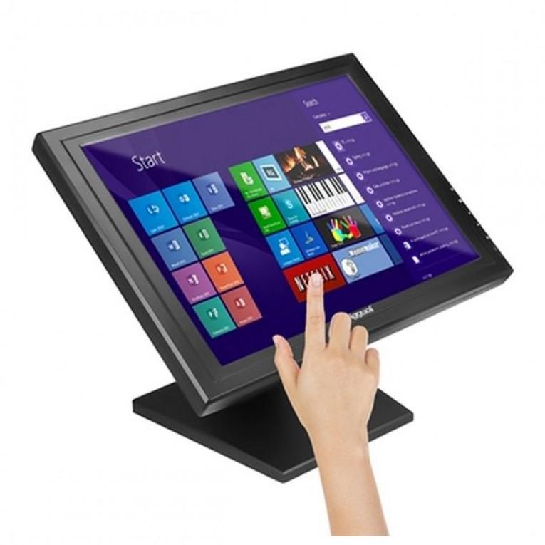 Monitor com tela tátil iggual MTL15B 15
