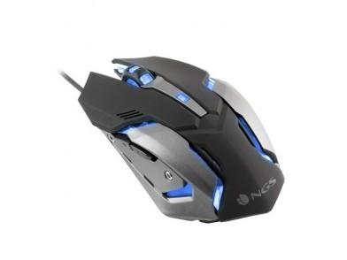 Rato Gaming com LED NGS GMX-100 USB 2400