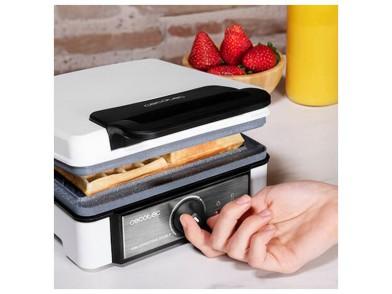 Máquina para Waffles Cecotec Gofrestone Double 1200W