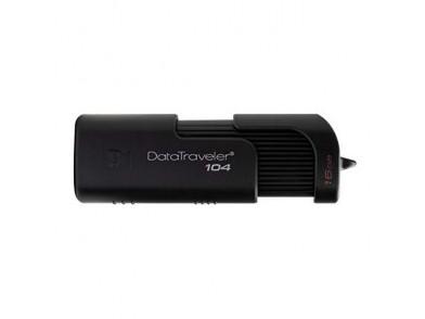 Pendrive Kingston DT104 USB 2.0 Preto