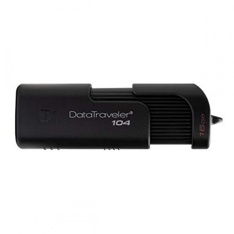 Pendrive Kingston DT104 USB 2.0 Preto