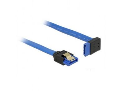 Cabo SATA DELOCK 84996 30 cm Azul