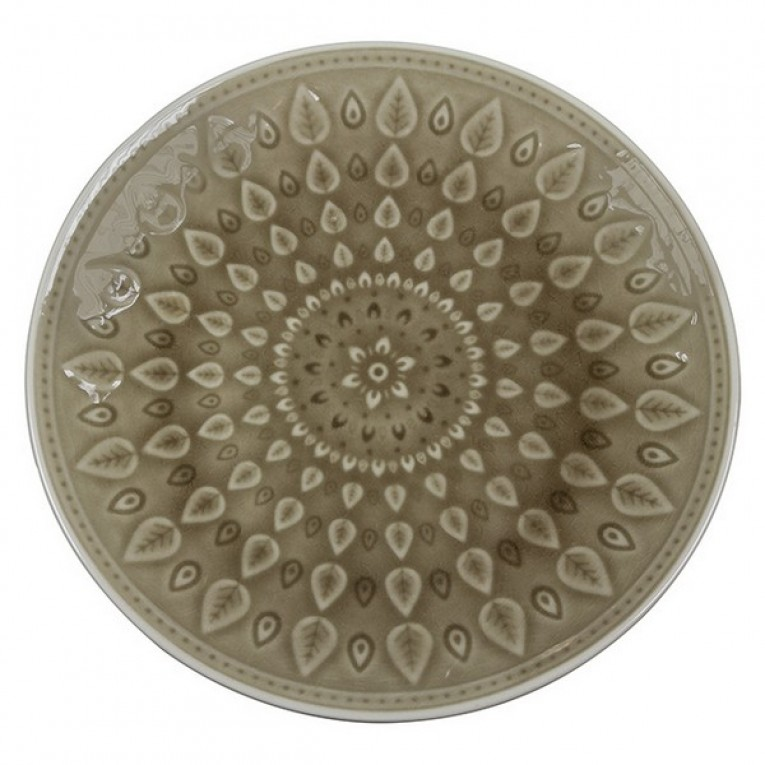 Plat bord Natural (26 X 26 x 2 cm)