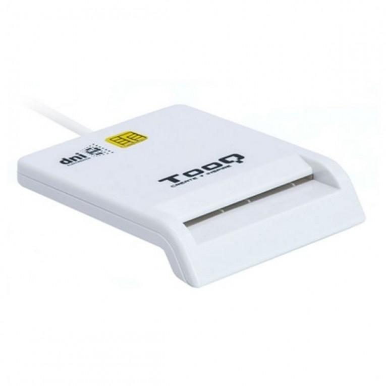Leitor de cartões inteligentes TooQ TQR-210W USB 2.0 Branco