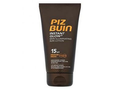 Protetor Solar Instant Glow Piz Buin SPF 15 (150 ml)