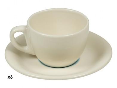 Serviço de Café (12 pcs) Servies Azul