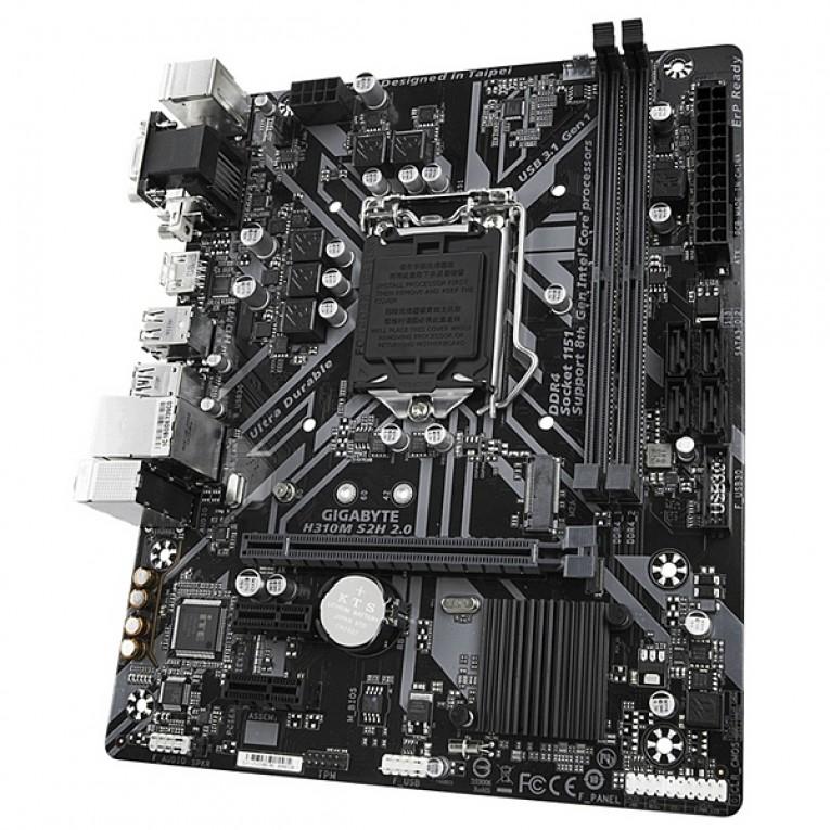 Placa Base Gaming Gigabyte H310M S2H 2.0 mATX DDR4 LGA1151