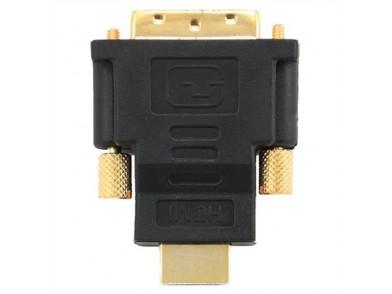 Adaptador HDMI para DVI GEMBIRD A-HDMI-DVI-1 Preto