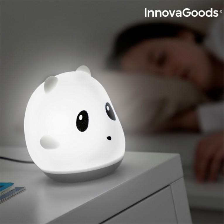 Lâmpada Tátil Recarregável de Silicone Panda InnovaGoods