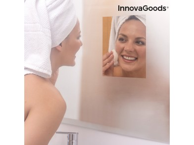 Película Anti-Embaciamento para o Espelho InnovaGoods (Pack de 2)