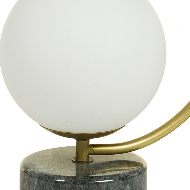 Lâmpada de Mesa Alumínio (24 X 15 x 31 cm)