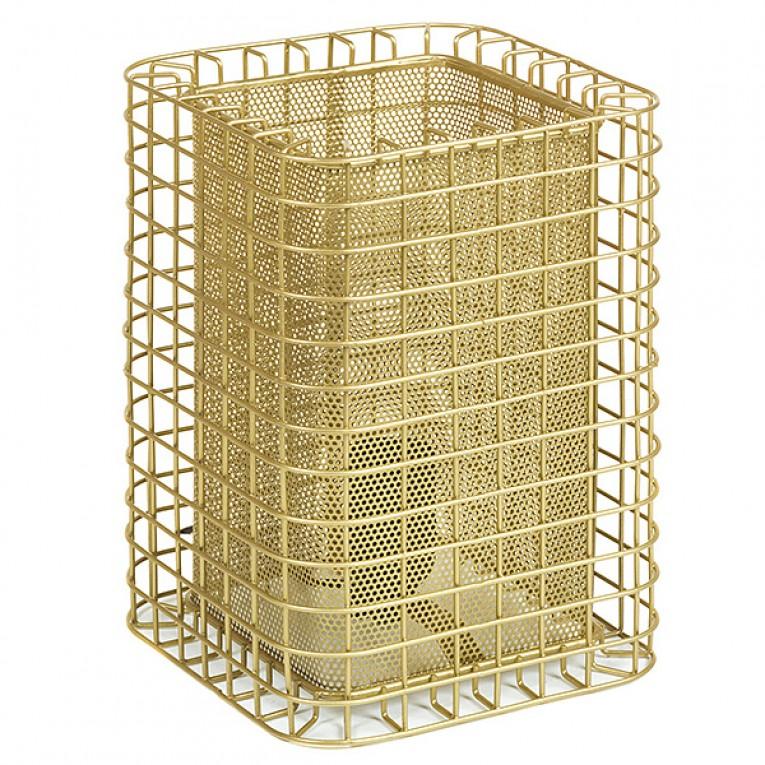 Lâmpada de Mesa Alumínio (17 X 17 x 24 cm)