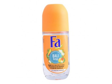 Desodorizante Roll-On Bali Kiss Fa (50 ml)