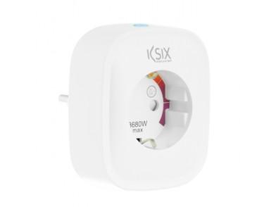 Tomada Inteligente KSIX Smart Energy Slim WIFI 250V Branco