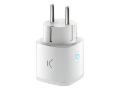 Tomada Inteligente KSIX Smart Energy Mini WIFI 250V Branco