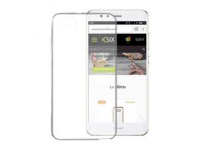 Capa para Telemóvel Huawei P10 Lite Flex Ultrafina Transparente