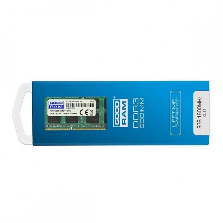 Memória RAM GoodRam GR1600S3V64L11S 4 GB DDR3