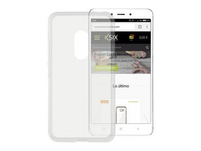 Capa para Telemóvel Xiaomi Redmi Note 4 Flex TPU Transparente