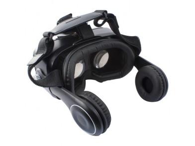 Óculos de Realidade Virtual com Auriculares KSIX Preto