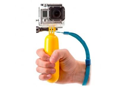 Selfie-stick Flutuante para a Câmara Desportiva Amarelo