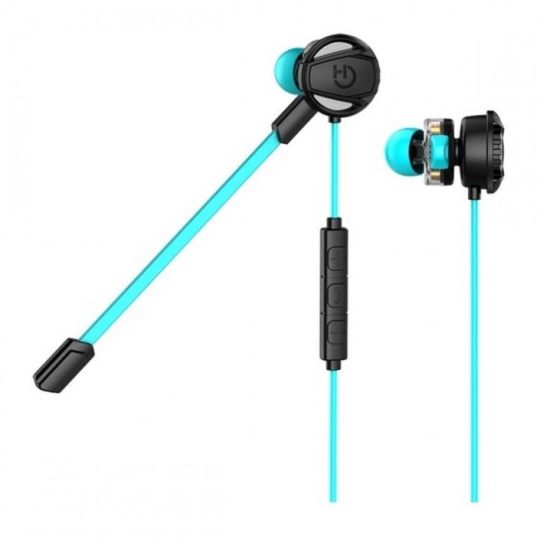 Auriculares com microfone + Saco Mochila com Cordas Hiditec PAC010008