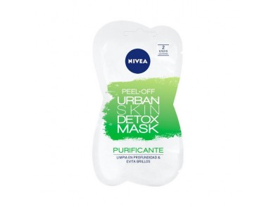 Máscara Facial Peel Off Urban Skin Detox Nivea (5 ml x 2)