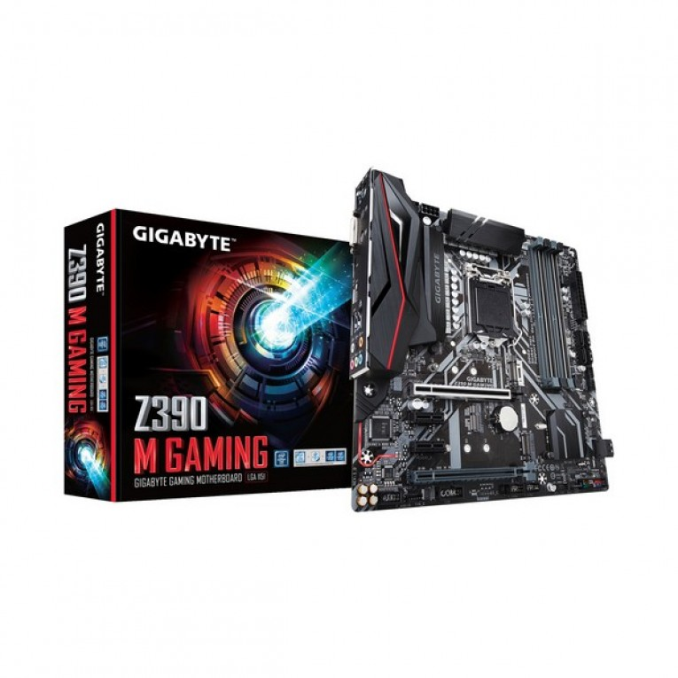 Placa Base Gaming Gigabyte Z390 M mATX DDR4 LGA1151