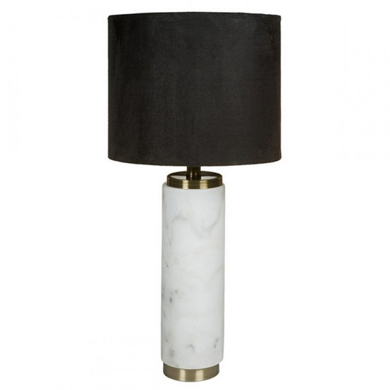 Lâmpada de Mesa (30 x 30 x 63 cm) Mármore