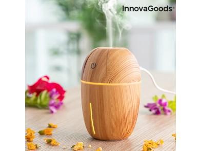Mini-Humidificador Difusor de Aromas Honey Pine InnovaGoods