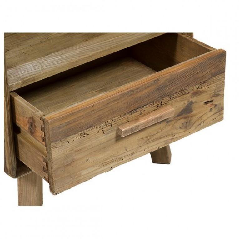 Mesa de Cabeceira (55 x 45 x 62 cm) Madeira reciclada