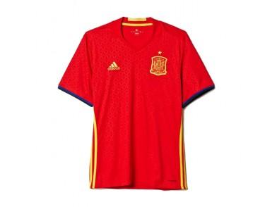 T-Shirt de Futebol de Manga Curta Homem Adidas FEF Espanha