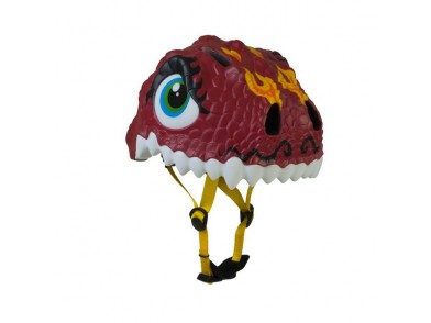 Capacete de Ciclismo Infantil Crazy Safety Chinese Dragon Led (Tamanho s)