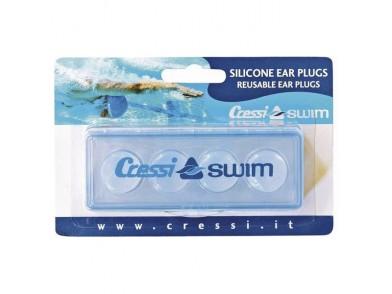 Tampões para os Ouvidos Cressi-Sub FDF200188A Transparente (4 Pcs)