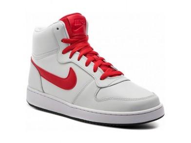 Sapatilhas de Basquetebol para Adultos Nike Ebernon Mid Branco Vermelho