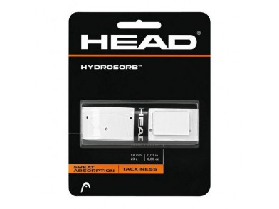 Grip de Ténis Head Hydrosorb 1,8 mm Elastómero Branco