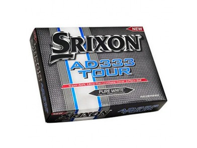 Bola de Golfe Srixon AD333 Tour Branco (12 Uds)