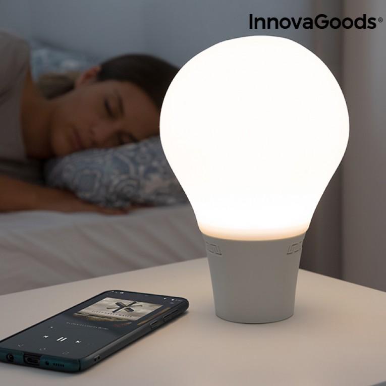 Lâmpada LED Tátil de Silicone com Altifalante Silitone InnovaGoods