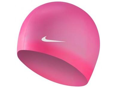 Touca de Natação Nike 93060-659 Cor de rosa (Tamanho único)