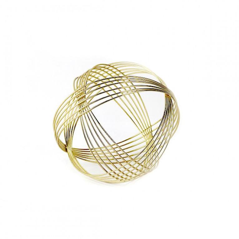 Figura Decorativa Sphere Dourado