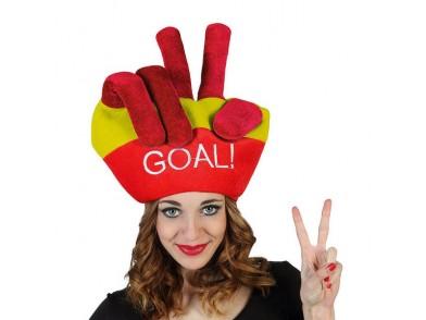 Chapéu Bandeiras do Mundo Goal Espanha