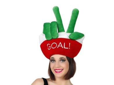 Chapéu Bandeiras do Mundo Goal Italiano