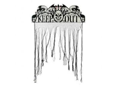 Decoração Suspensa Keep Out (97 x 137 cm)