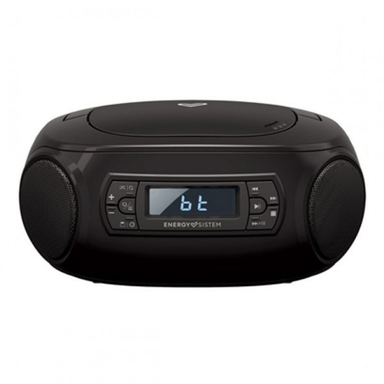Rádio CD Bluetooth MP3 Energy Sistem Boombox 3 2W Preto