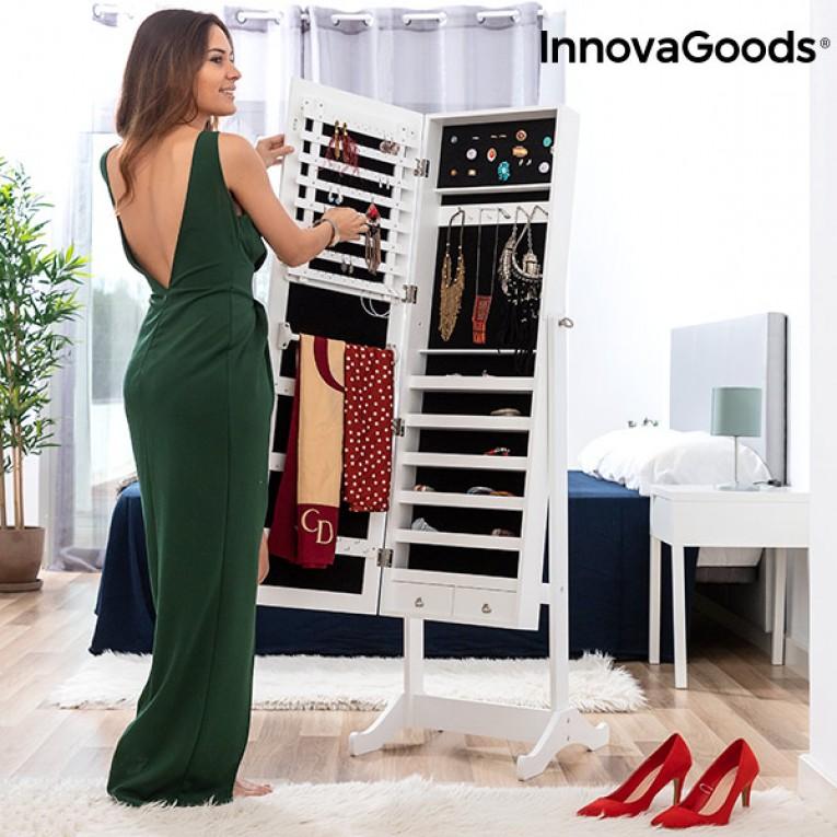 Espelho Porta-Joias de Madeira XXL InnovaGoods