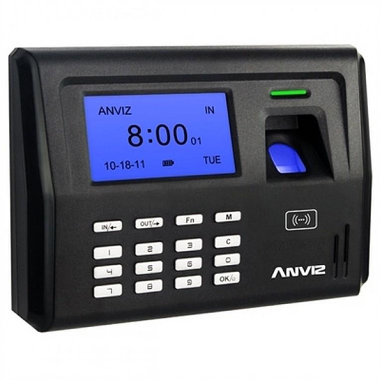 Sistema de Controlo de Acesso Biométrico POSIFLEX EP300 LCD 500 dpi Preto