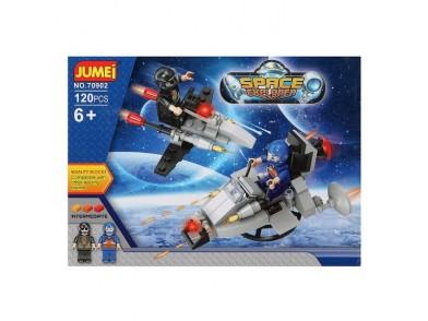 Jogo de Construção com Blocos Space Explorer 119764 (120 pcs)